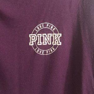 Flowy PINK longarm shirt size M